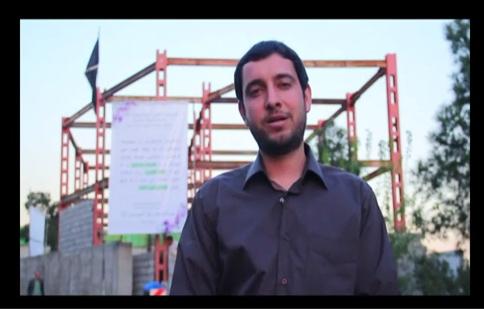 صحبت های مسئول اجرائی هیأت راجع بیت الحسین