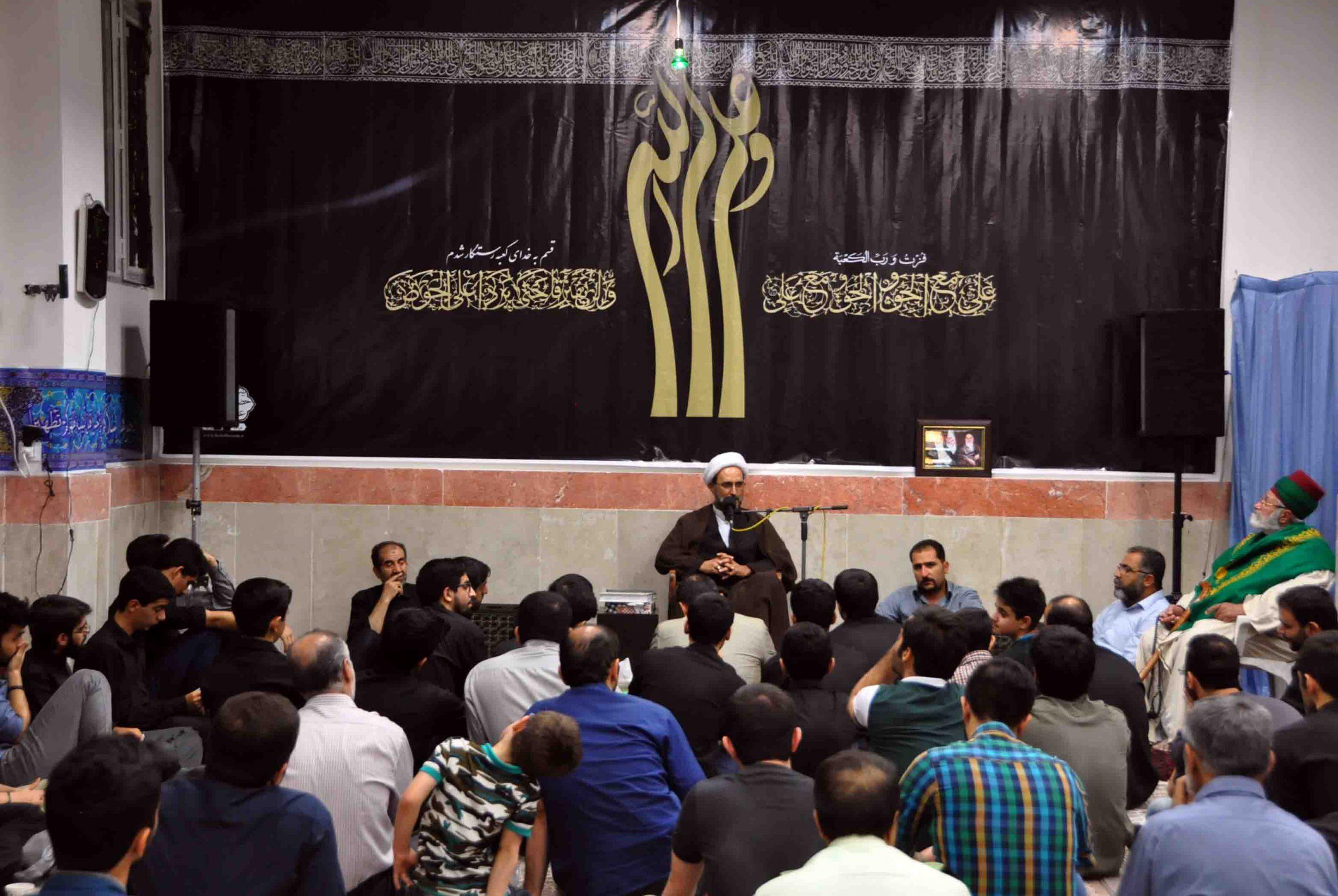 مراسم شب قدر ( شب ۱۹ ) + عکس و صوت